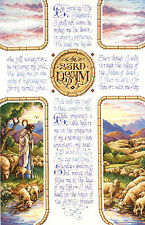 Cross Stitch Kit ~ Janlynn The Lord Is My Shepherd 23rd Psalm Bible #023-0147