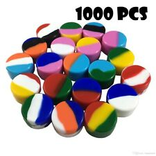 1000 NonStick 5ml Silicone Jar Containers Mixed Color New Ball 5 ml wholesale