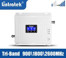 Three-Band 900/1800/2600MHz 2G 3G 4G LTE Booster Handy-Signalverstärker Repeater