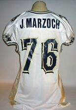 J.Marzoch - Game used, worn - Pitt football jersey
