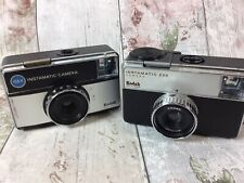 Bundle of 2 Kodak Instamatic Camera's 233 & 155X UNTESTED