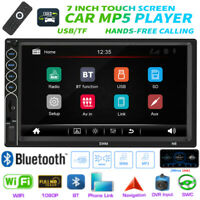 7 inch 2 DIN HD Car Stereo MP5 Player Bluetooth FM Radio MP3 USB AUX w/Remote