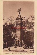 Postcard War Monument Saigon (Ho Chi Minh City) Vietnam