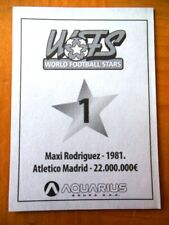 2010 Aquarius World Football Stars SERBIA Sticker You Pick Player -1