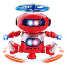 360° Electronic Walking Dancing Smart Space Robot Astronaut Kids Music Light Toy