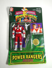 Power Rangers Mighty Morphin Action Figure Red Bandai Tattoo Bandal  New 1994