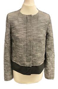 John Lewis Monrow Tweed Jacket, Grey, Various Sizes, RRP £99