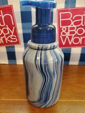 Bath & Body Works Ceramic Hand Soap Holder Dispenser with Unique Color Swirls