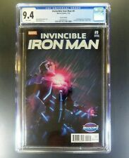 Marvel INVINCIBLE IRON MAN #9 KEY Turcotte AOA Variant CGC 9.4 RIRI WILLIAMS WP