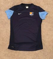 SKY BLUE FC WOMENS SOCCER GAME WORN / PLAYER ISSUED NIKE  DRI FIT SHIRT - SIZE L