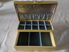 Vintage Mid Century Lady Buxton Jewelry Box