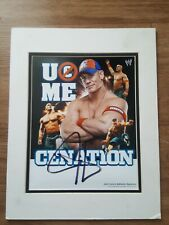 Signed WWE JOHN CENA /& THE ROCK Wrestling PhotoPrint A4 A3 A2 A1 Autographed