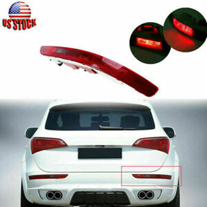 For AUDI Q5 2009-2017 2.0T Red Rear Bumper Light Reflector Right Passenger Side