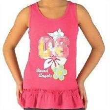 Girls' Scoop Neck Graphic Vest T-Shirts, Top & Shirts (2-16 Years)
