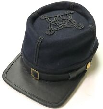 CIVIL WAR US UNION INFANTRY CAPTAIN OFFICER WOOL KEPI FORAGE CAP HAT-MEDIUM