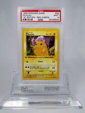 PSA 9 MINT 1st Edition Red Cheeks Pikachu Shadowless Pokemon 1st Base Set 58/102
