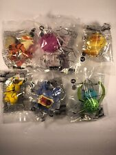 *COMPLETE Lot Of 6* Pokemon Detective Pikachu 2019 Burger King *NEW & SEALED""