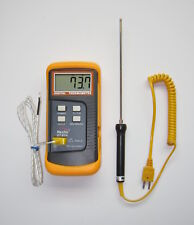 k-Type Digital Thermometer, Thermocouple Stainless Temperature Sensor Probe TC-3
