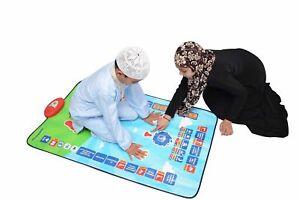 Talking Prayer Mat - Children's Educational Interactive - Kids, Salah, Muslim