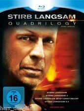 STIRB LANGSAM 1-4 QUADRILOGY (Bruce Willis) 4 Blu-ray Discs NEU+OVP