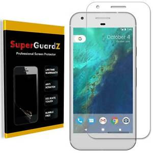 2X SuperGuardZ® Clear [FULL COVER] Screen Protector For Google Pixel 2 XL (2017)