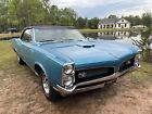 1967 Pontiac GTO 1967 Pontiac GTO Convertible Blue RWD Automatic