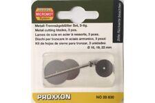 Proxxon 28830 Lame en Acier - Cutting blades made of spring steel 3pcs