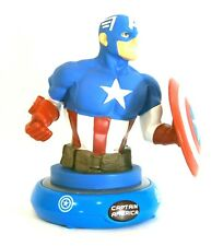 Captain America Bust Night Light Marvel Avengers Light Up Collectible Figure