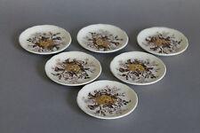 Mason´s Ascot braun 6 Tellerchen Teller D.= ca. 7 cm Masons England