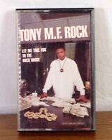 RARE Tony M.F. Rock Let Me Take You to the Rock House Tape Rap Hip Hop Skywalker