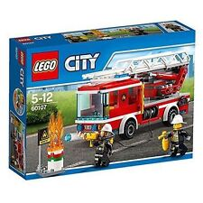 Lego City 60107 Fire Ladder Truck 2016 Release