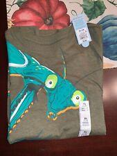 New Nwt Cat & Jack boys t-shirt praying mantis Xl size 16