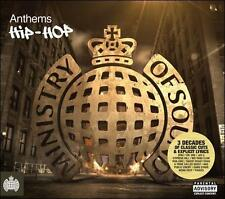 MINISTRY OF SOUND - Anthems: Hip Hop NEW 3CD ultimate hip hop collection DIGIPAK