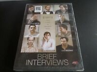 "DVD NEUF ""BRIEF INTERVIEWS"" Julianne NICHOLSON, Dominic COOPER / John KRASINSKI"