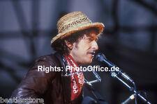 Bob Dylan in München 1984, seltenes 30x45cm Konzert Foto Poster