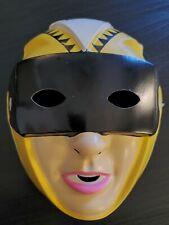 Vintage Yellow Vr Troopers Halloween Mask Rubies Costume Futuristic Y137
