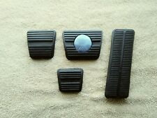 1973-79 CHEVY II NOVA DISC Brake Clutch Gas Accelerator Pedal Rubber Pad 4PC KIT