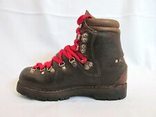Lowa VTG Brown Hiking Mountaineering Boot Germany Label shows  5-1/2 M see below