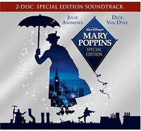Various Artists, Dis - Mary Poppins (Original Soundtrack) [New CD] Bonus DVD,