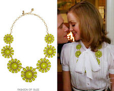 Kate Spade Glossy Garden Chartreuse Necklace NWT Emma Pillsbury Glee Chic!