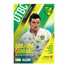 Norwich City Championship Home Teams L-N Football Programmes