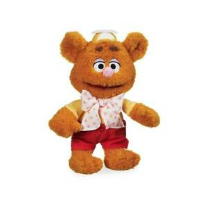 Disney Store Fozzie Bear Plush - Muppet Babies - Small