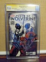 Death Of Wolverine #1 Salt Lake City Variant CGC 9.6 SS Stan Lee & Greg Horn