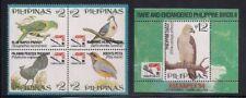 Philippine  1994  Sc #2333-34  Birds  Block of 4 + s/s  MNH  (3-3677)