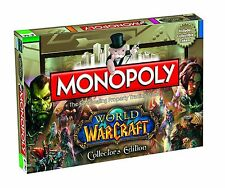 Monopoly World of Warcraft Board Game Collectors Edition Brand NEW