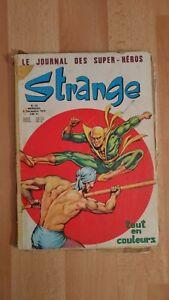 Strange numéro 72 Lug 1975