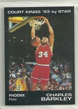 Charles Barkley 1992-93 1993 Star Company Court Kings Suns Promo Card (150 Made)