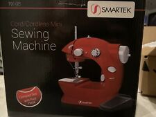 Smartek RX-08 Sewing Machine Mini Cord / Cordless Red