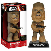 Star Wars Force Awakens Wacky Wobbler Chewbacca Bobble Head Figure NEW Toys