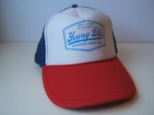 Young Life Script 1941 Hat Red White Blue Snapback Trucker Cap